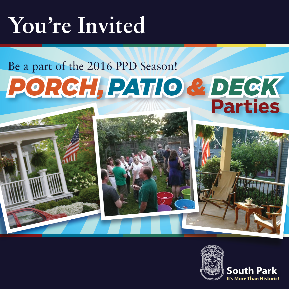 2016 Porch, Patio & Deck Season in Historic South Park