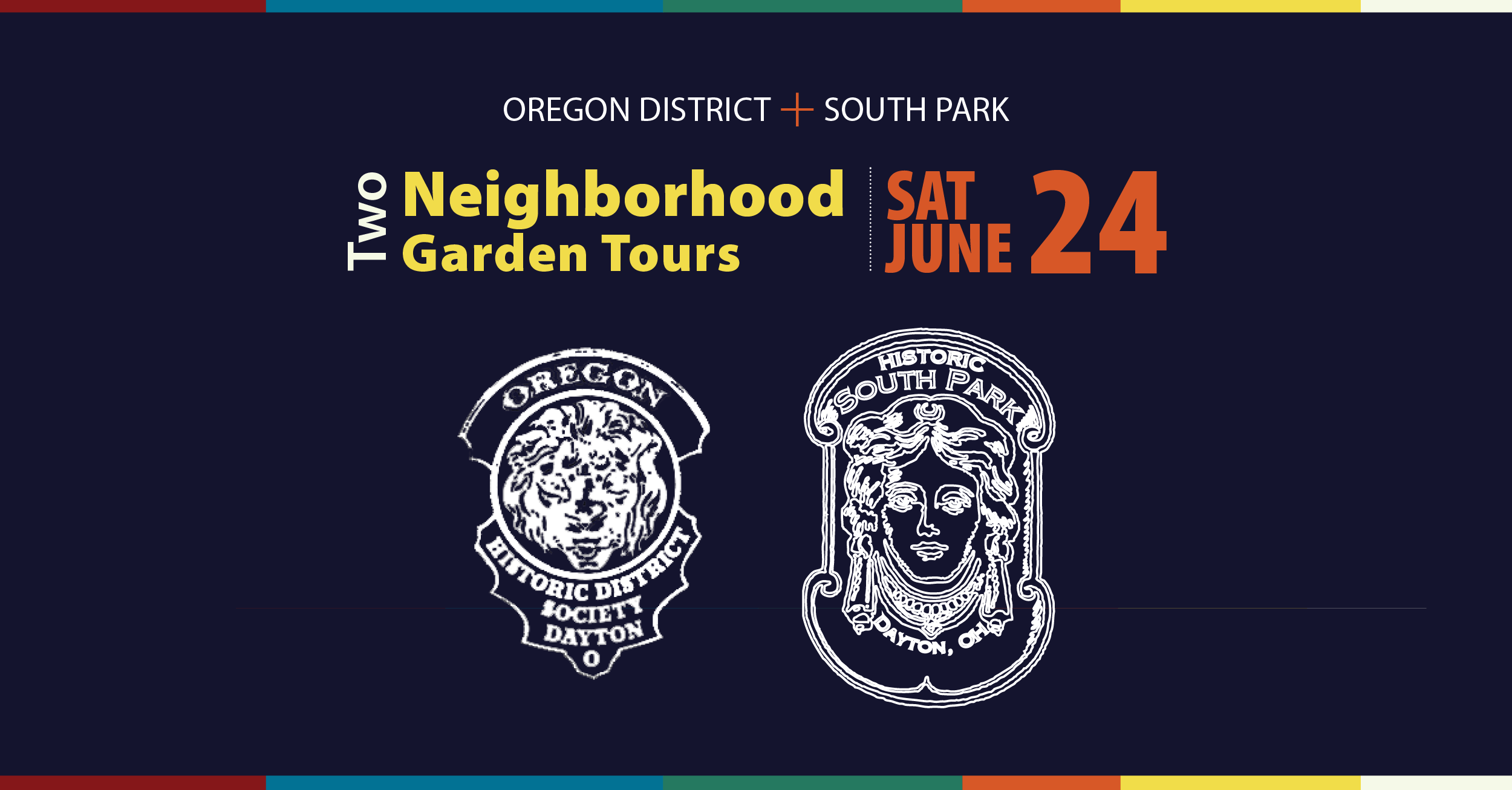 Oregon District and South Park to Hold Garden Tours