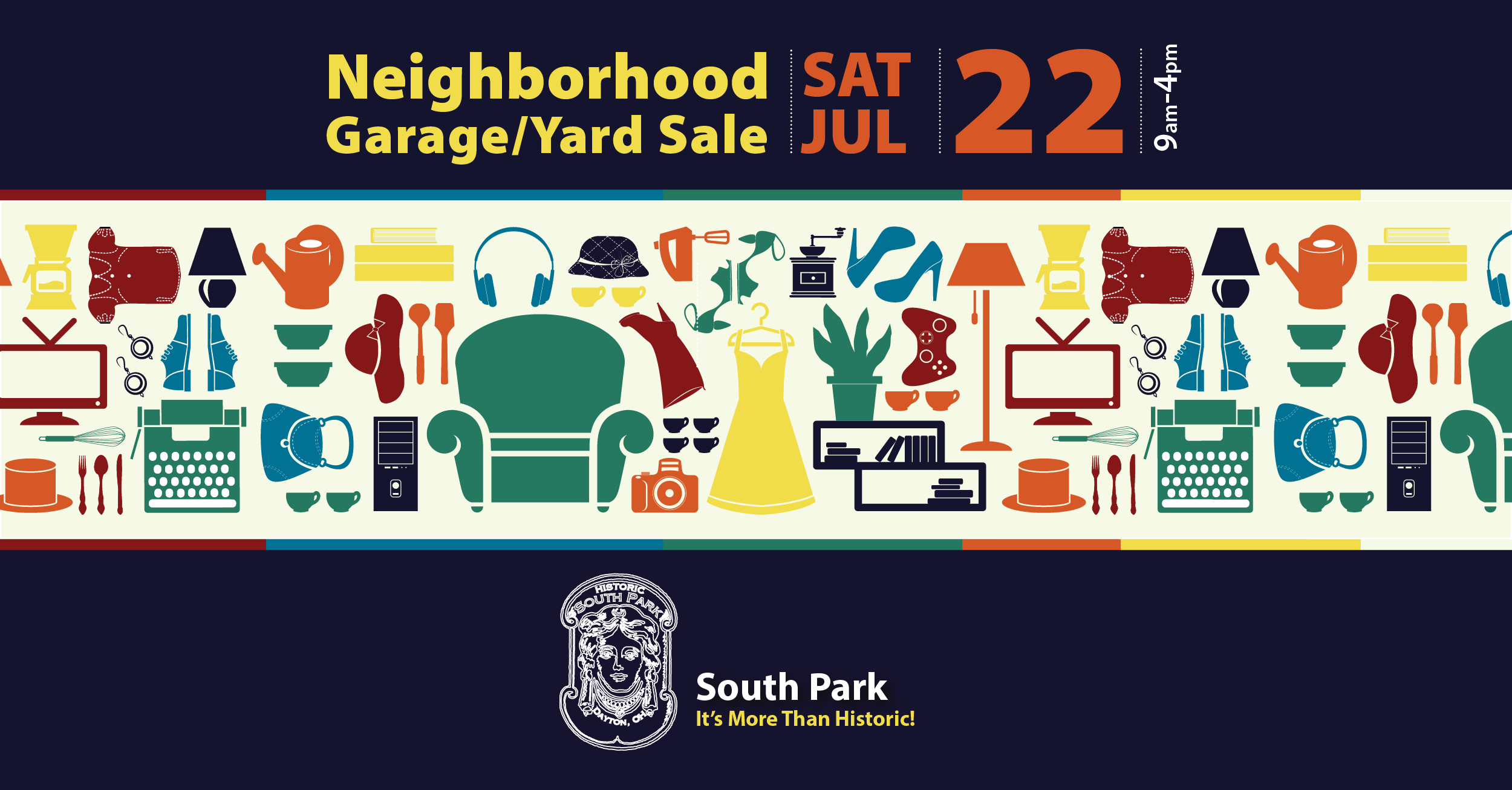 Neighborhood-Wide Garage/Yard Sale July 22 – Map Now Available